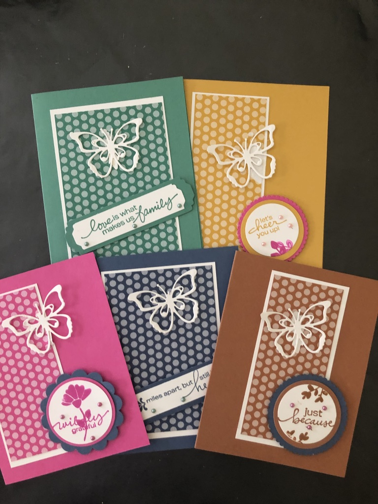 August Greeting Card Kit is Here!